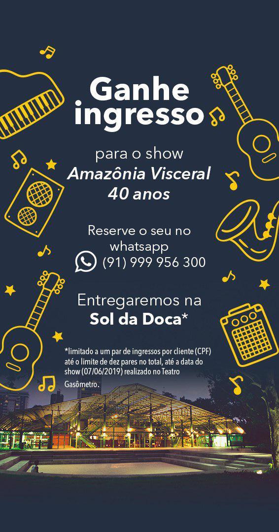 Amazônia Visceral 40 anos